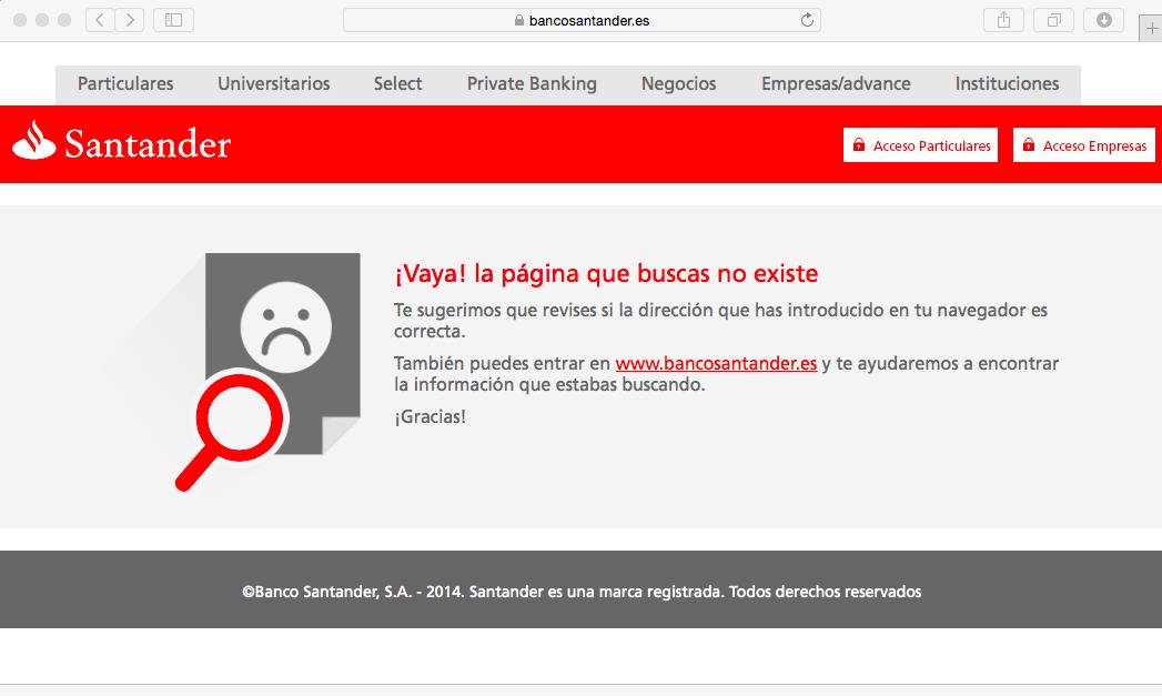 El link de esta Keyword ya no existe, por eso sale un 404-Error