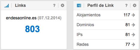 Links del dominio endesaonline.es