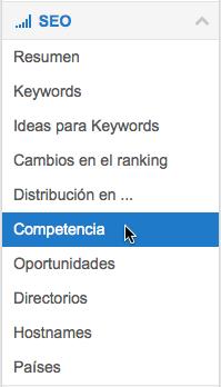 Módulo-SEO > Competencia