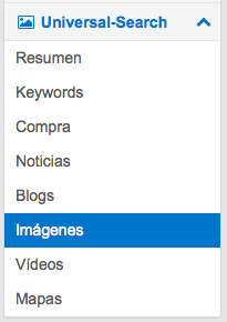 Imágenes Universal Search