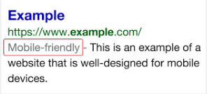 Etiqueta de Google que actualmente beneficia a los contenidos adaptados a Smartphones