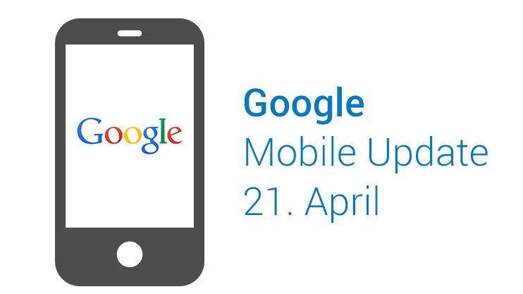Google Mobile Update