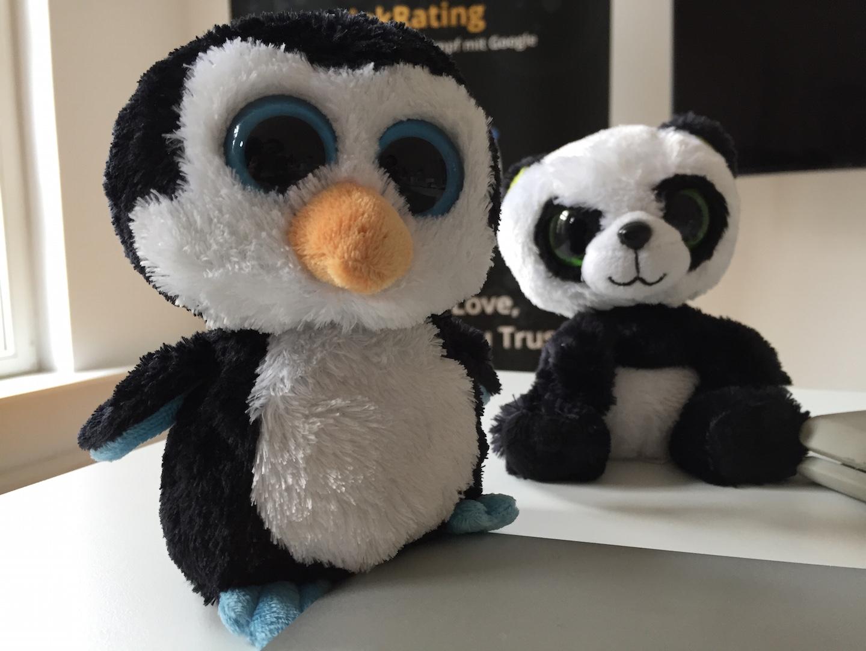Penguin y Panda