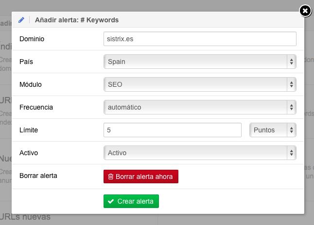 Controla si hay nuevos competidores por tus keywords en el ranking de Google