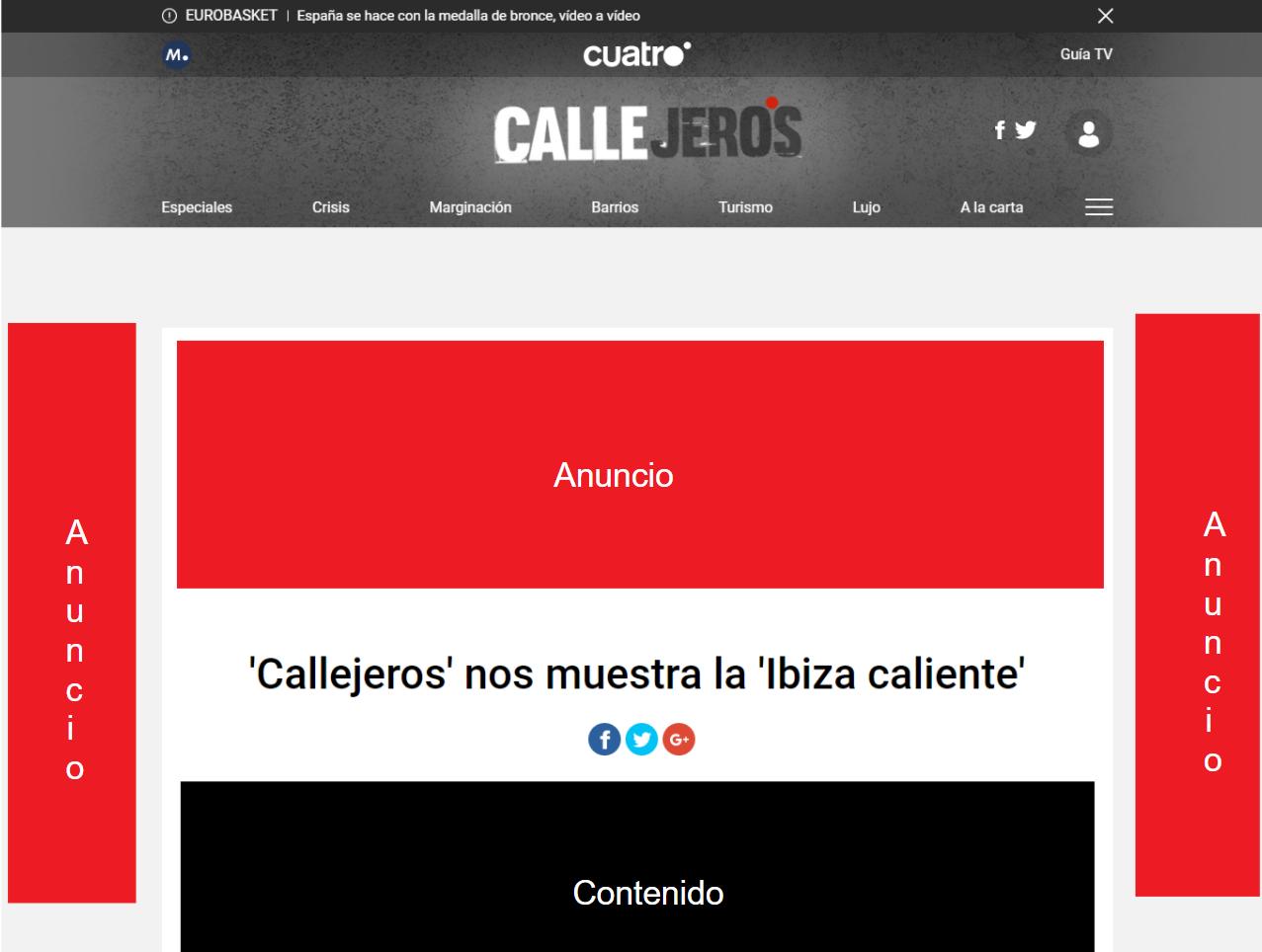 Anuncios de Cuatro.com