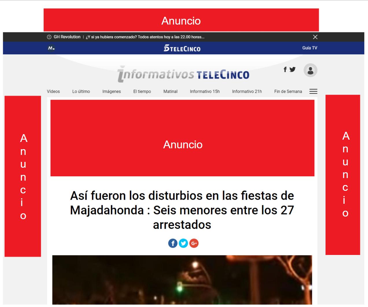 Anuncios de Telecinco.es