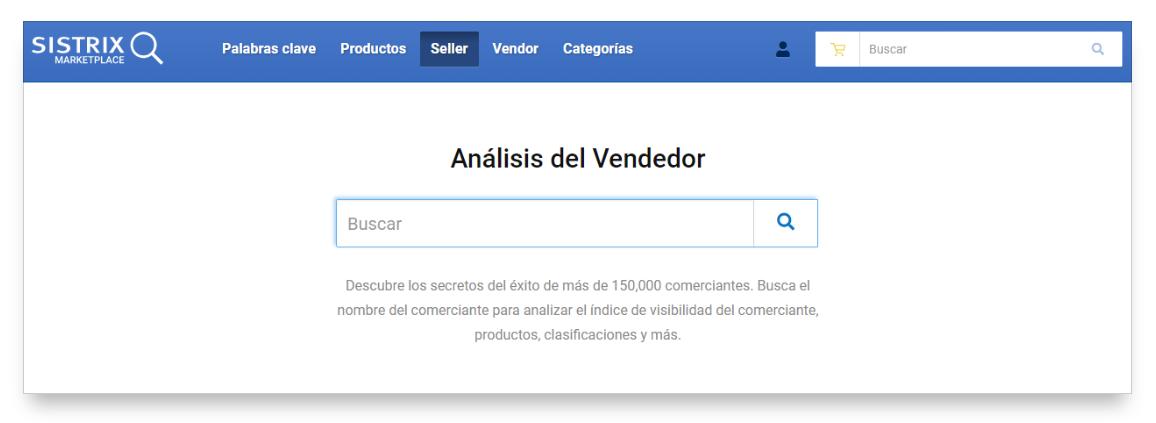 Resumen de la herramienta amazon de SISTRIX para el Seller