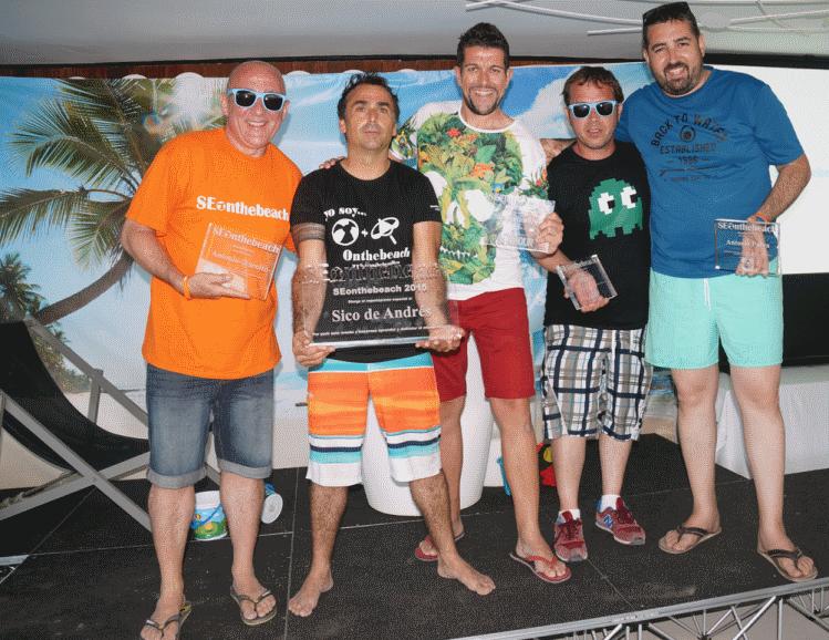 Antonio (Seoito), Sico de Andrés, Sergio Simarro, Miguelo y Antonio Parra
