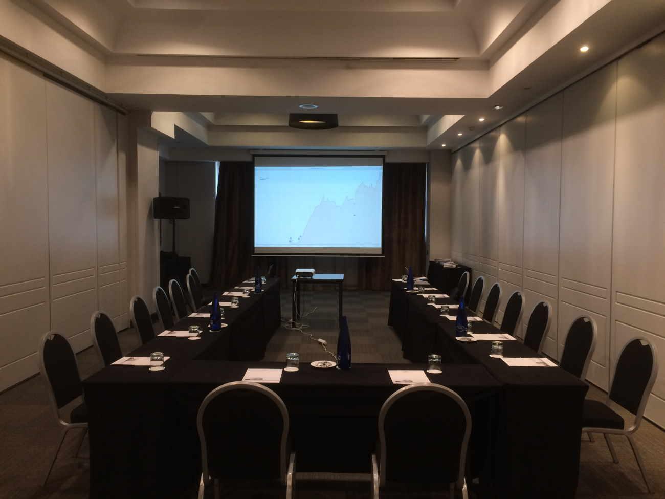 Sala de los talleres de SISTRIX en el Rafael Hotels Atocha - Madrid