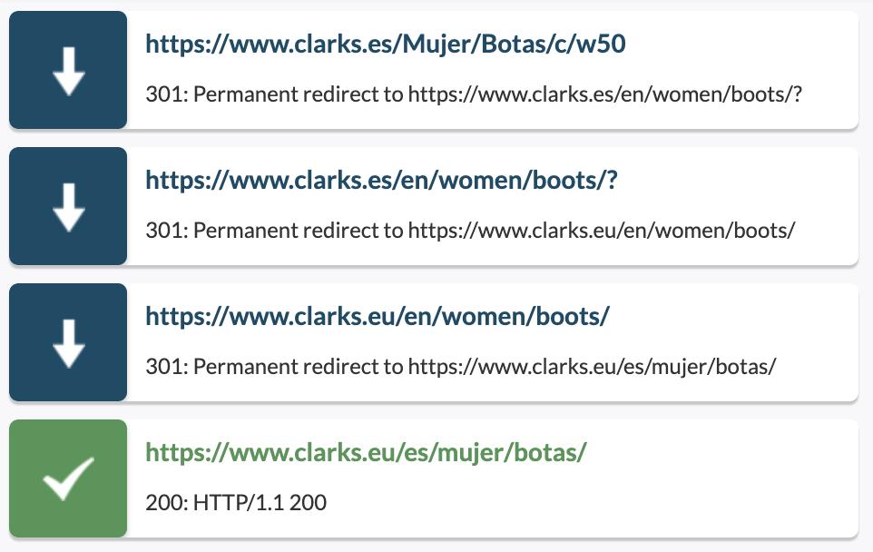 Redirecciones en el navegador