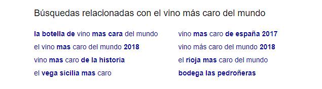 Busquedas relacionadas para el ejemplo el mejor vino del mundo